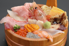 極上海鮮丼