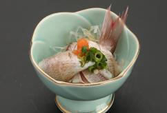 春子鯛ポン酢